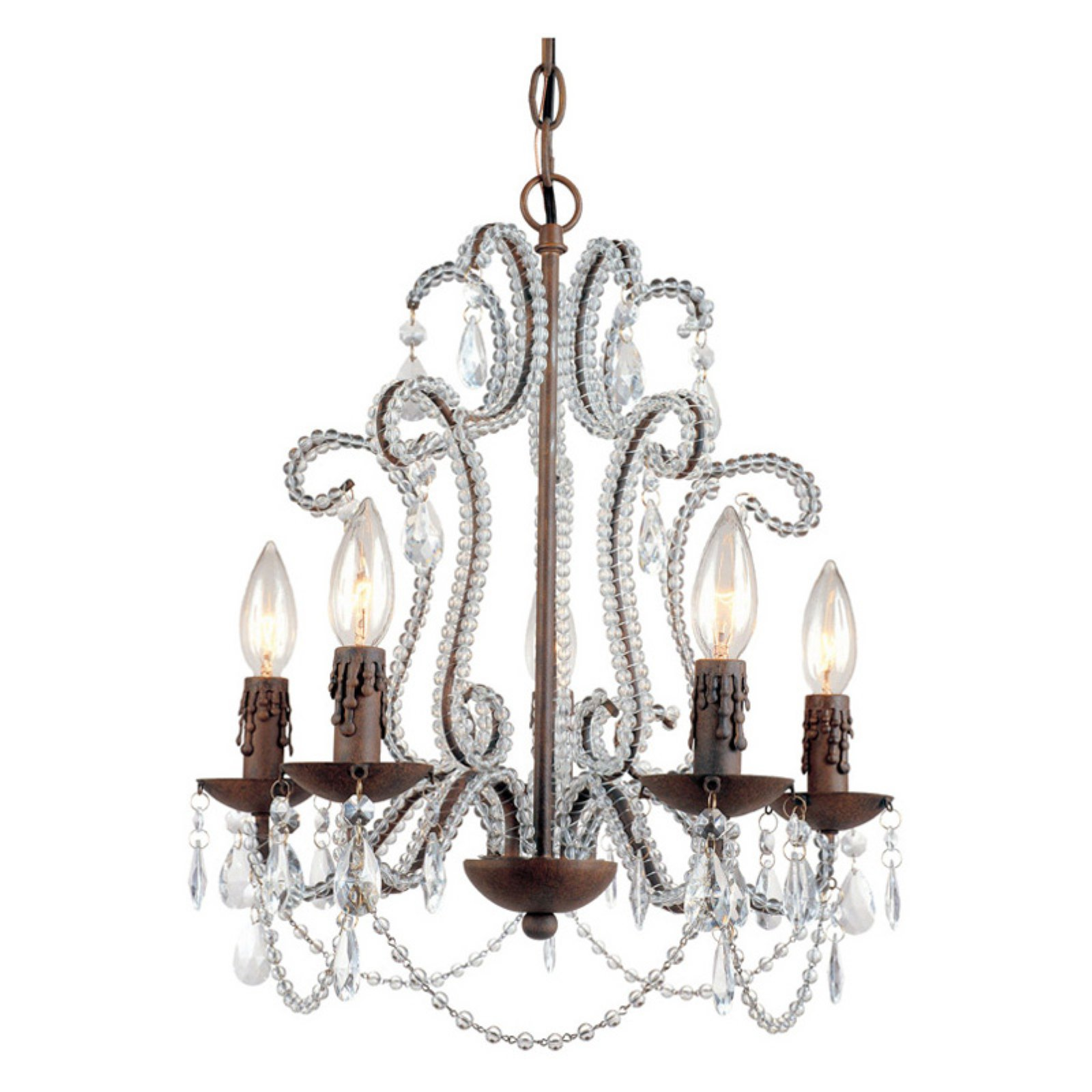 Beloved Five Light Mini Chandelier