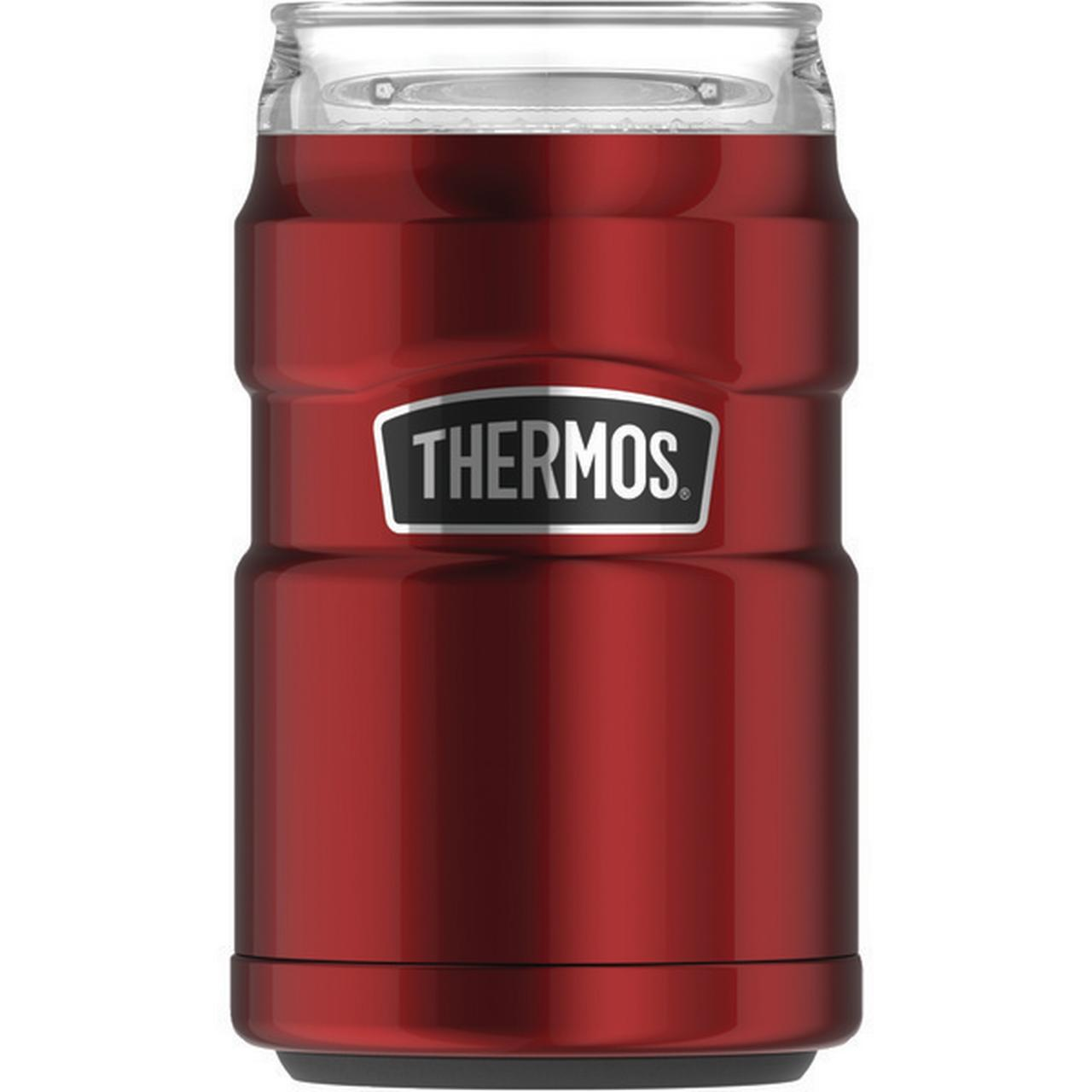 Thermos Sk1500cr4 10 ounce Stainless Steel Tumbler With 360deg Drink Lid  cranberry
