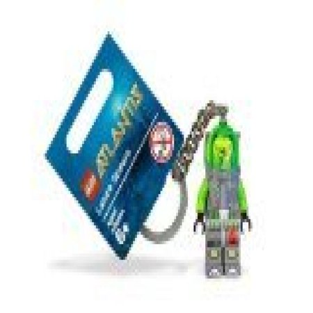 LEGO Atlantis Diver Lance Spears Key Chain - Lego Key Chains