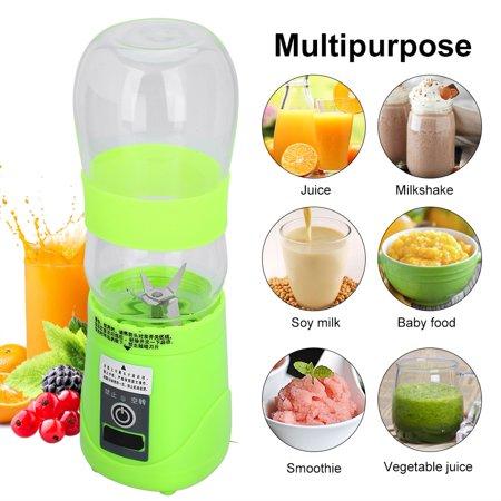 Portable Fruit Juicer,Ymiko 420ml USB Electric Fruit Juicer Smoothie Maker Portable Blender Shaker