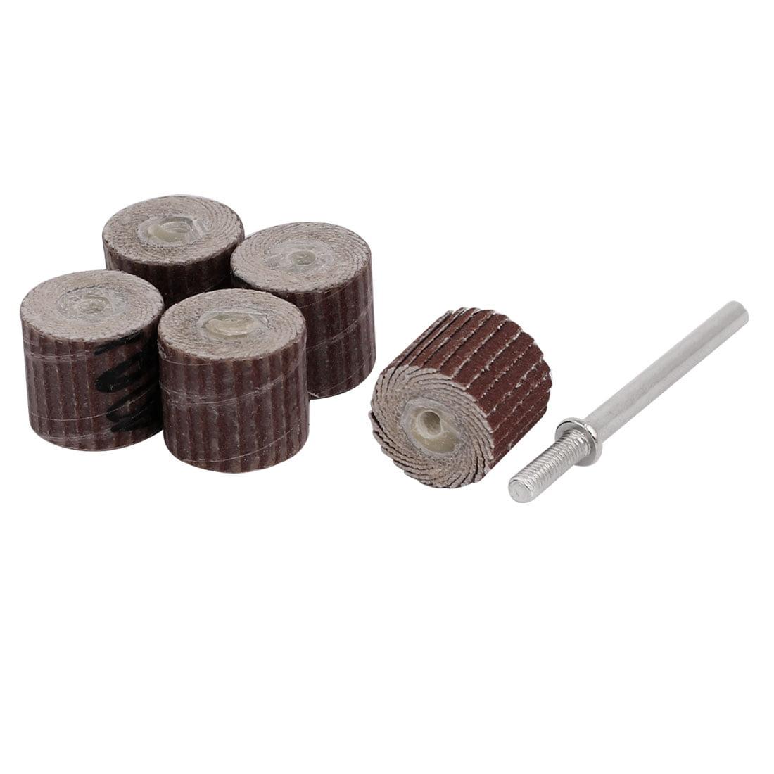 Unique Bargains 400 Grit 13mm Dia Sandpaper Flap Sanding Wheel Grinding Polishing Tool 15pcs - image 1 de 3