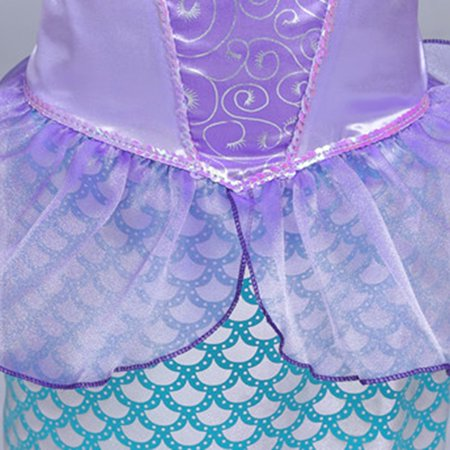 Child Mermaid Princess Party Outfit Fancy Dress Costume Great For Girls - Fancy Dresses For Girls