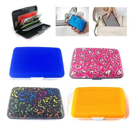8c95e019b3f6 4 Wallets, Assorted The Elixir Aluminum Silicone Hard Case Credit ...