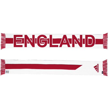 England Adidas 2014 FIFA World Cup Authentic Jacquard Team Scarf ()
