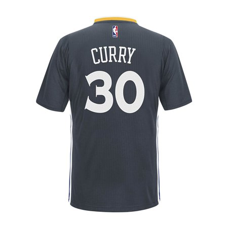 Golden State Warriors Adidas NBA Stephen Curry #30 Alternate Swingman Jersey (Charcoal) by