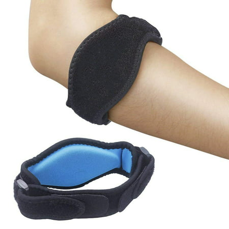 Coolmade [2 Pack] Elbow Brace, Tennis Elbow Brace with Compression Pad for Both Men and