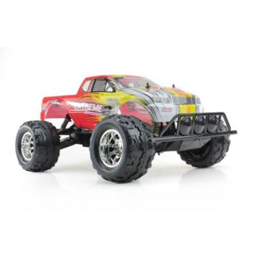 "20"" RC 4WD Big Wheely Monster Truck 1/8 Scale RTR Radio Control Car High Speed Vehicle Toy - Yellow"