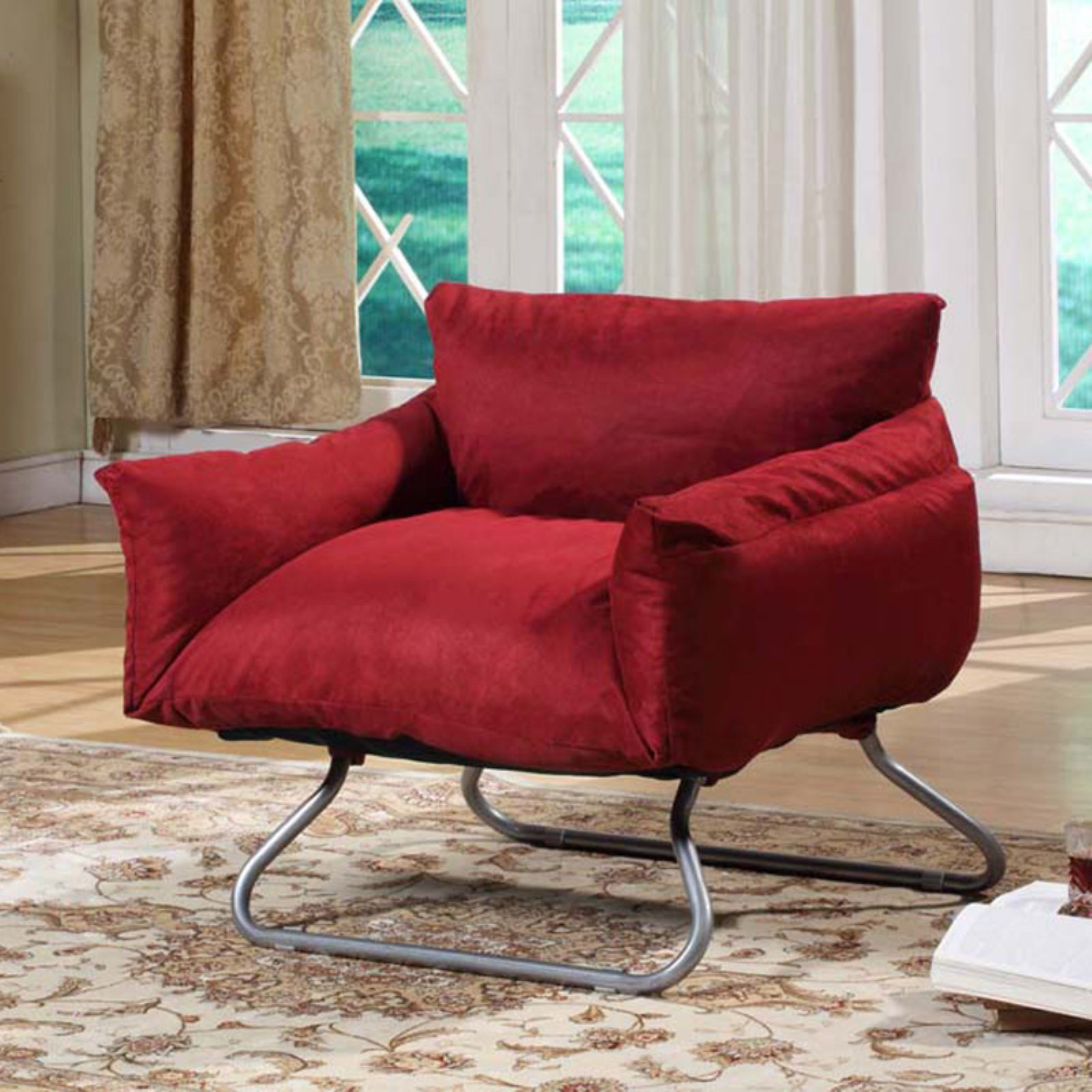 InRoom Designs Kids Red Chair Bed