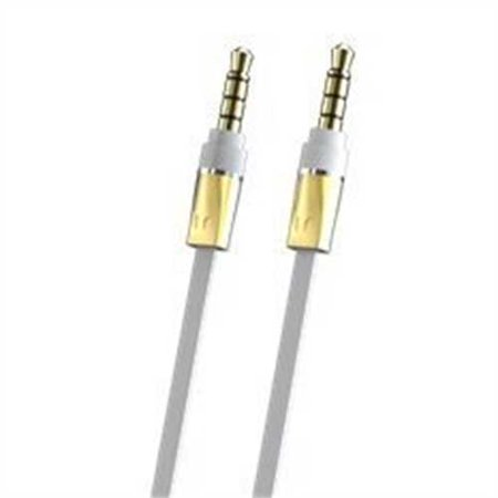 Monster Mobile Audio Cable Monster Mobile Audio Cable 3.5mm Male to Male Stereo Audio Cable-8 feet