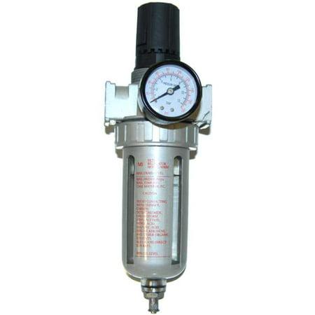 new air compressor filter pressure regulator water trap. Black Bedroom Furniture Sets. Home Design Ideas