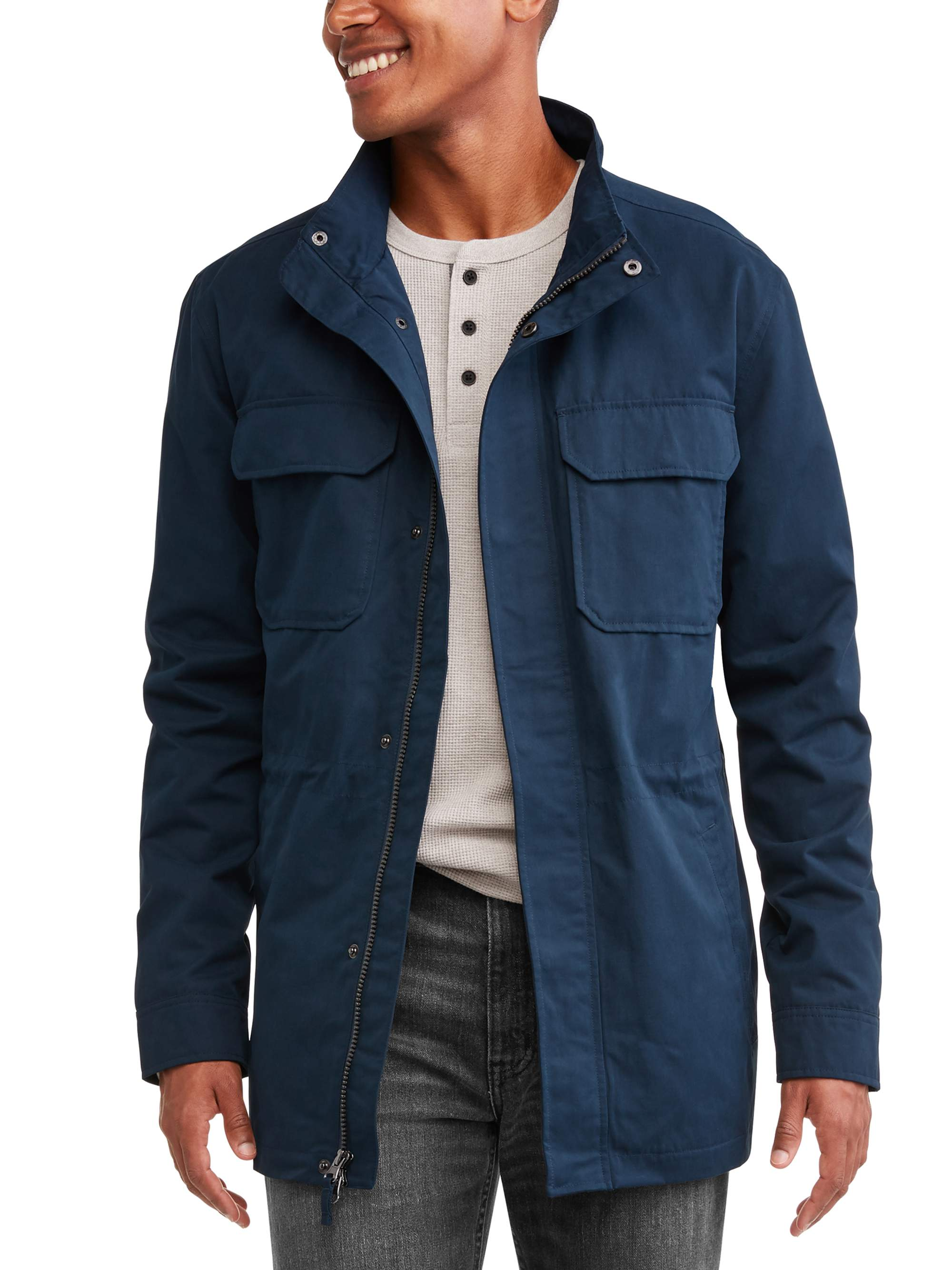 Men's Field Jacket, up to Size 5XL