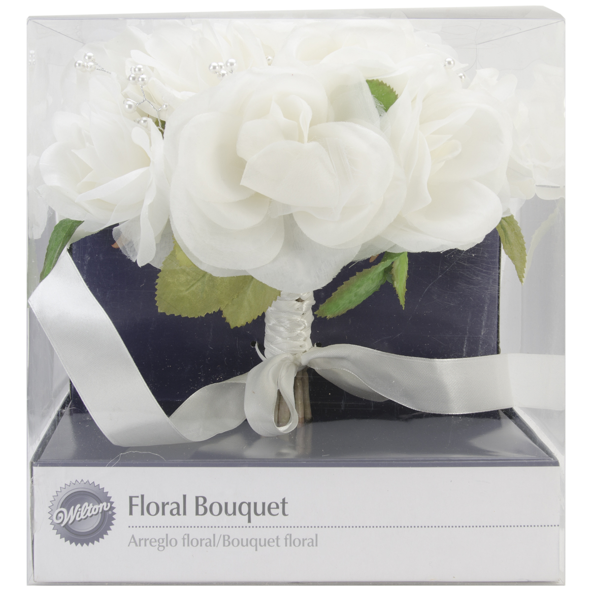Wilton French Rose Wedding Bouquet, Natural Multi-Colored