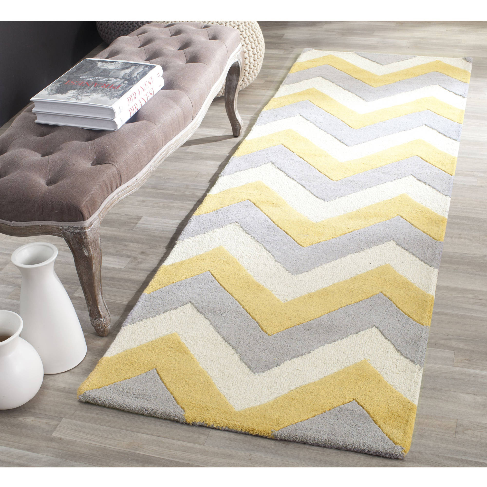 Safavieh Cambridge Cherette Zig Zag Stripes Area Rug or Runner