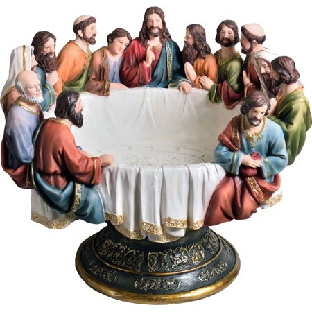 Ok Lighting Last Supper Decorative Bowl