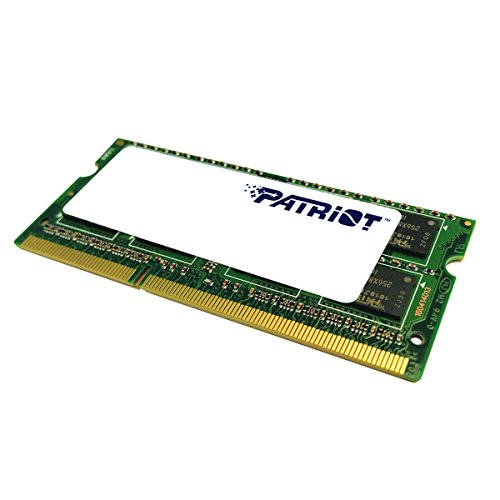Patriot 1.35V 4GB DDR3 1600MHz PC3-12800 CL11 SODIMM Memory PSD34G1600L2S