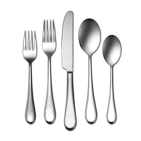 Oneida Icarus 45 Piece Casual Flatware Set, 18/0 Stainless, Service for 8