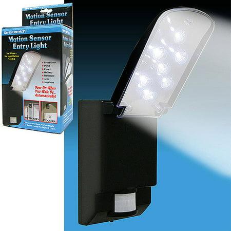 Bright 7 Led Motion Sensor Entry Light