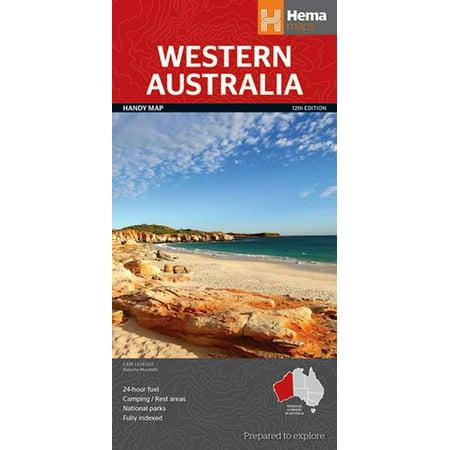 Western Australia state NP handy r/v (r) hema (Map)