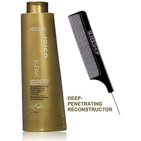 Joico K-Pak Deep-Penetrating Reconstructor For Damaged Hair, Original Formula (Stylist Kit) K Pack Quadramine Complex 8.5 Oz / 250 Ml Bonus