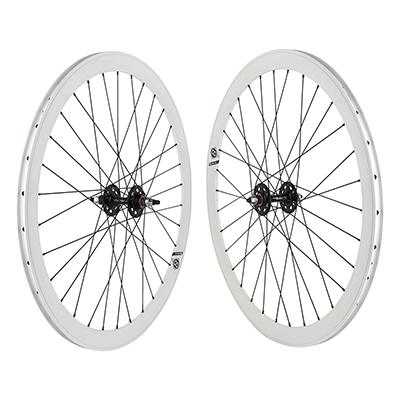 Wheel Pair 700 Origin-8 42mm White NMSW 32 Origin-8 Black FX/FX SEAL DT2.0BK