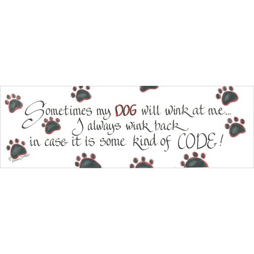 LPG Greetings Life Lines Sometimes My Dog by Lori Voskuil-Dutter Graphic Art Plaque