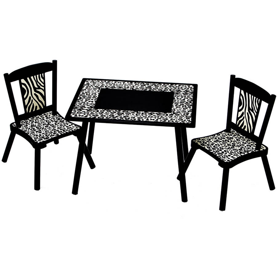 Levels of Discovery Wild Side Table and 2 Chair Set