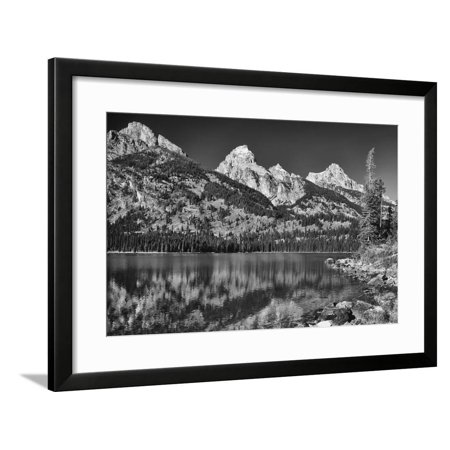 Grand Teton 03 Framed Print Wall Art By Gordon Semmens