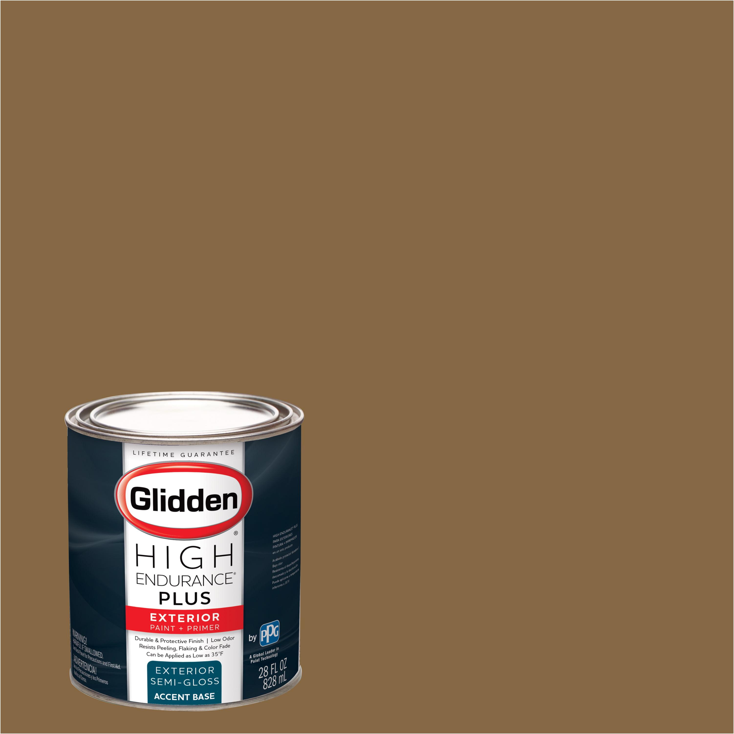 Glidden High Endurance Plus Exterior Paint and Primer, Goldstone, #00YY 19/261