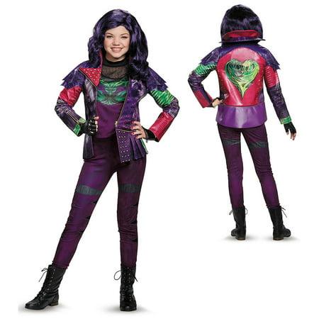 Girls Descendants Mal Prestige Costume