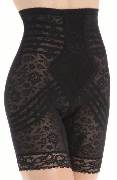 Rago Shapewear Black Half Slip /& Panty Light Control Shaper Size 32XL