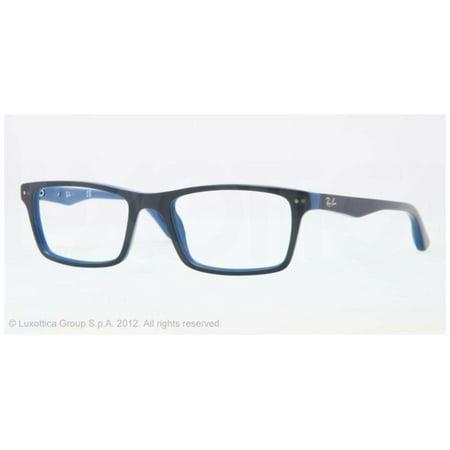 4460cda1cd Eyeglasses Ray-Ban Optical RX 5288 5137 TOP GREY ON BLUE - Walmart.com