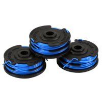 Greenworks 0.065-Inch Dual Line String Trimmer Replacement Spool 3-Pack 2900719