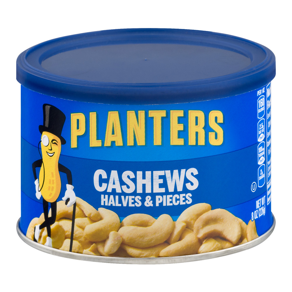 Planters Cashews Halves & Pieces, 8.0 OZ
