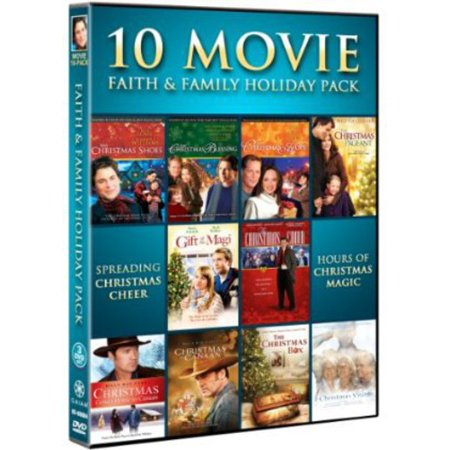 10 Movie Faith and Family Holiday Pack (DVD)