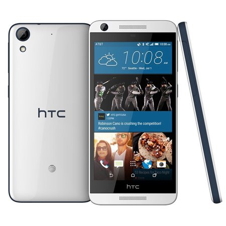 Htc Desire 626 At 4G Lte Quad Core Android Phone W  8Mp Camera   White