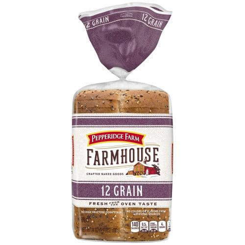 Pepperidge Farm Farmhouse 12 Grain Bread, 24 oz. Bag