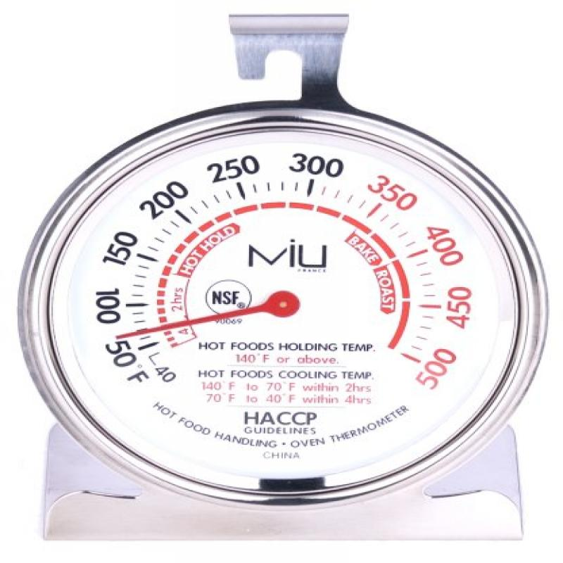 MIU France 90069 NSF Commercial Oven Thermometer3 Inch Diameter Dial by MIU France