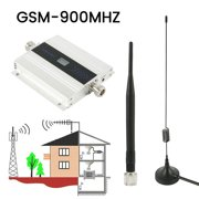 Willstar US plug Small Alloy LCD GSM 900 MHz Mobile Cell Phone Signal Repeater Amplifier Cellular Repeater Signal Booster