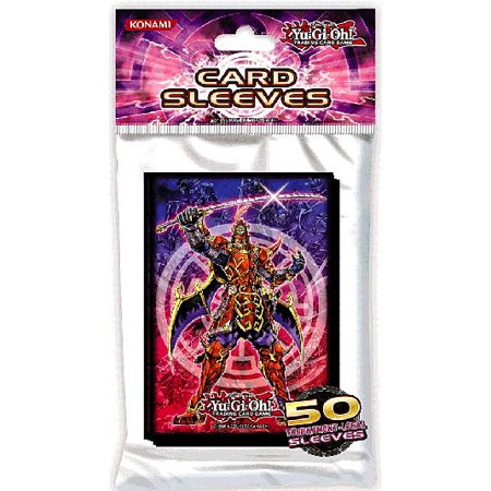 YuGiOh Official Sleeves Legendary Six Samurai Card Sleeves [50