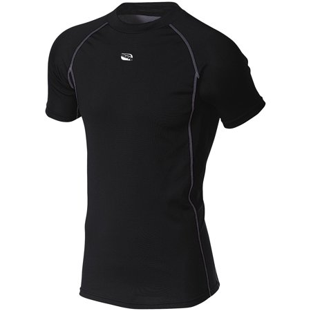 MSR Base Layer Short Sleeve Shirt (Black, X-Large)
