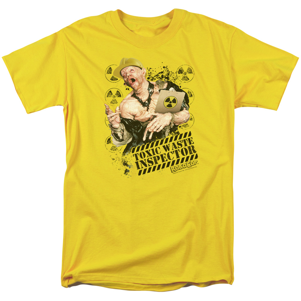 ROBOCOP/TOXIC WASTE INSPECTOR-S/S ADULT 18/1-YELLOW-LG