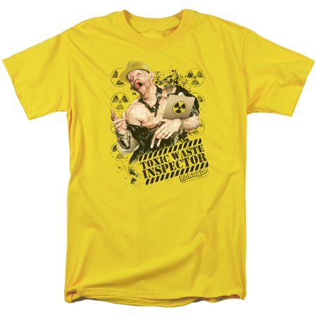 ROBOCOP/TOXIC WASTE INSPECTOR-S/S ADULT 18/1-YELLOW-MD