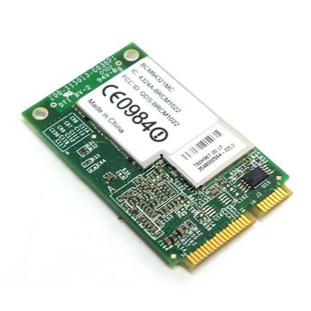 Dell Boadcom BCM94321MC 802.11n/b/g Wireless Wifi WLAN Mini PCI-E Laptop Board Card for Selected Dell (Mini Pci Wireless Board)