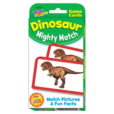 DINOSAUR MIGHTY MATCH CHALLENGE CARDS - Dinosaur King Cards