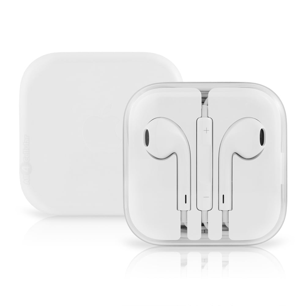 2 Pack Apple Earpods OEM Original Stereo Headphones w/Control-White  MD827LL/A