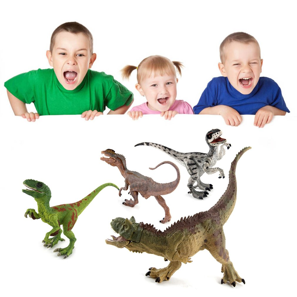 Plastic Dinosaur Model Toys Action Figures Educational Realistic Dinosaur