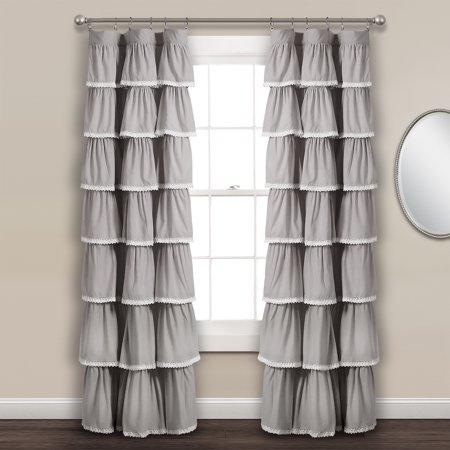Lace Window Curtains (Lace Ruffle Window Curtain)