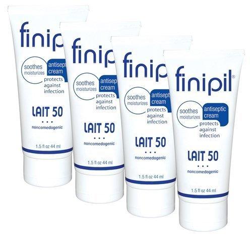 Finipil LAIT 50 Antiseptic Cream 4pk- 44 ml each