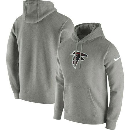 pretty nice 4ff28 21be5 Atlanta Falcons Nike Club Fleece Pullover Hoodie - Heathered Gray