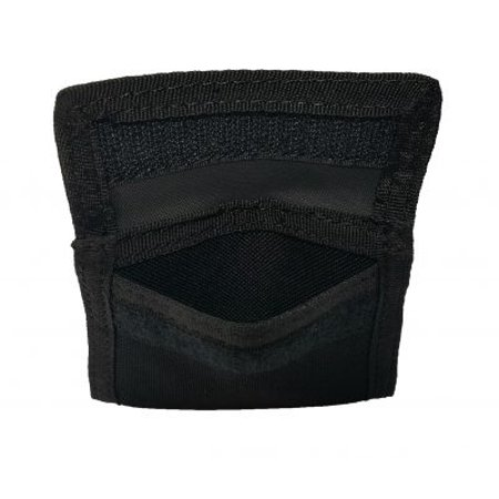 Latex Glove Pouch Black - Police - Firefighter - EMS - EMT - Paramedic Medical Glove Holder ()